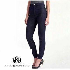 Rock & Republic 2M High Roller High Waist Jeans